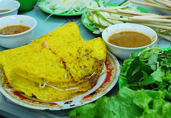 Bánh xèo Du lịch Đà Nẵng một ngày - Du lich Da Nang 1 ngay
