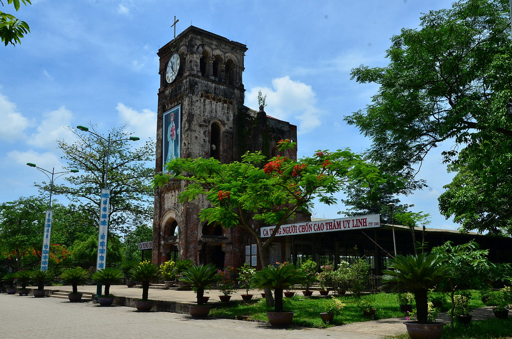 Thánh địa La Vang Du lịch Quảng Trị một ngày - Du lich Quang Tri 1 ngay