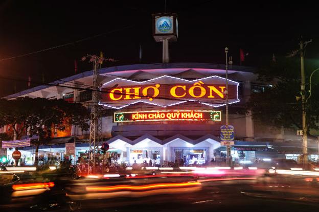 Chợ Cồn Du lịch Đà Nẵng