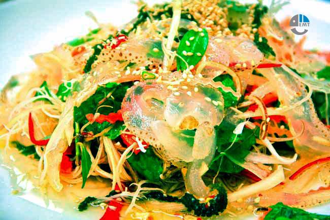 Nộm Sứa Quán ăn ngon Đà Nẵng