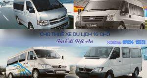 Giá thuê xe 16 chỗ Huế đi Hội An | Thue xe 16 cho Hue di Hoi An