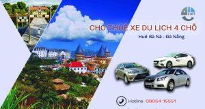 Giá thuê xe 4 chỗ Huế đi Bà Nà | Thue xe 4 cho Hue di Ba Na Da Nang