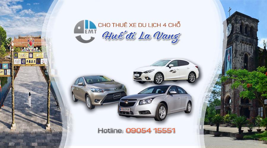Cho thuê xe 4 chỗ Huế đi La Vang Quảng Trị cho thue xe du lich
