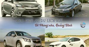 Giá thuê xe 4 chỗ Huế đi Phong Nha Quảng Bình | Thue xe 4 cho Hue di Phong Nha