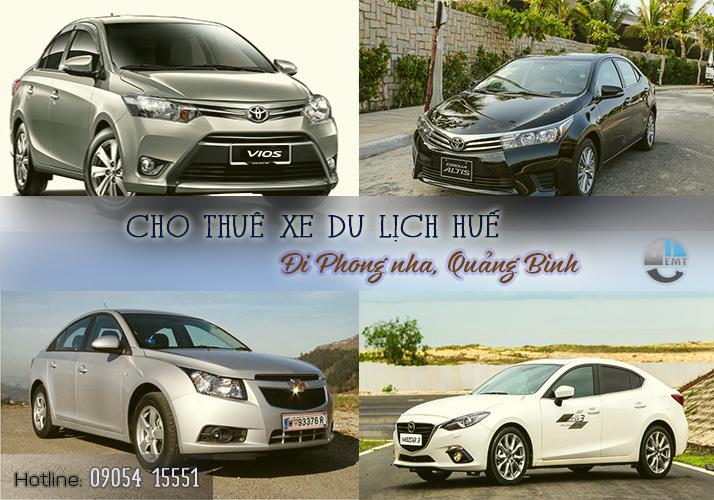 Cho thuê xe 4 chỗ Huế đi Phong Nha Quảng Bình cho thue xe du lich