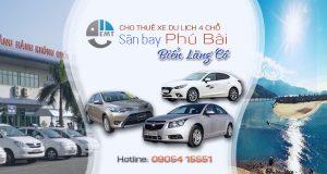 Giá thuê xe 4 chỗ sân bay Huế đi biển Lăng Cô | Thue xe 4 cho san bay Phu Bai di bien Lang Co
