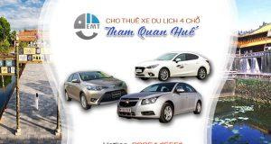 Giá thuê xe 4 chỗ tham quan Huế | Thue xe 4 cho tham quan Hue