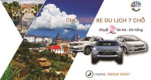 Giá thuê xe 7 chỗ Huế đi Bà Nà | Thue xe 7 cho Hue di Ba Na Da Nang