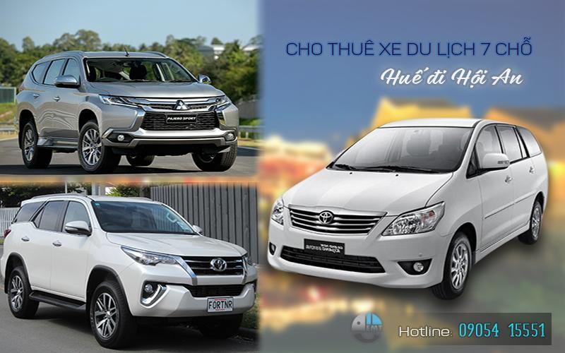 Giá thuê xe 7 chỗ Huế đi Hội An | Thue xe 7 cho Hue di Hoi An