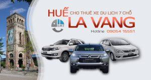 Giá thuê xe 7 chỗ Huế đi La Vang | Thue xe 7 cho Hue di La Vang