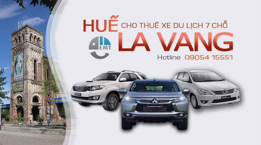 Giá thuê xe 7 chỗ Huế đi La Vang