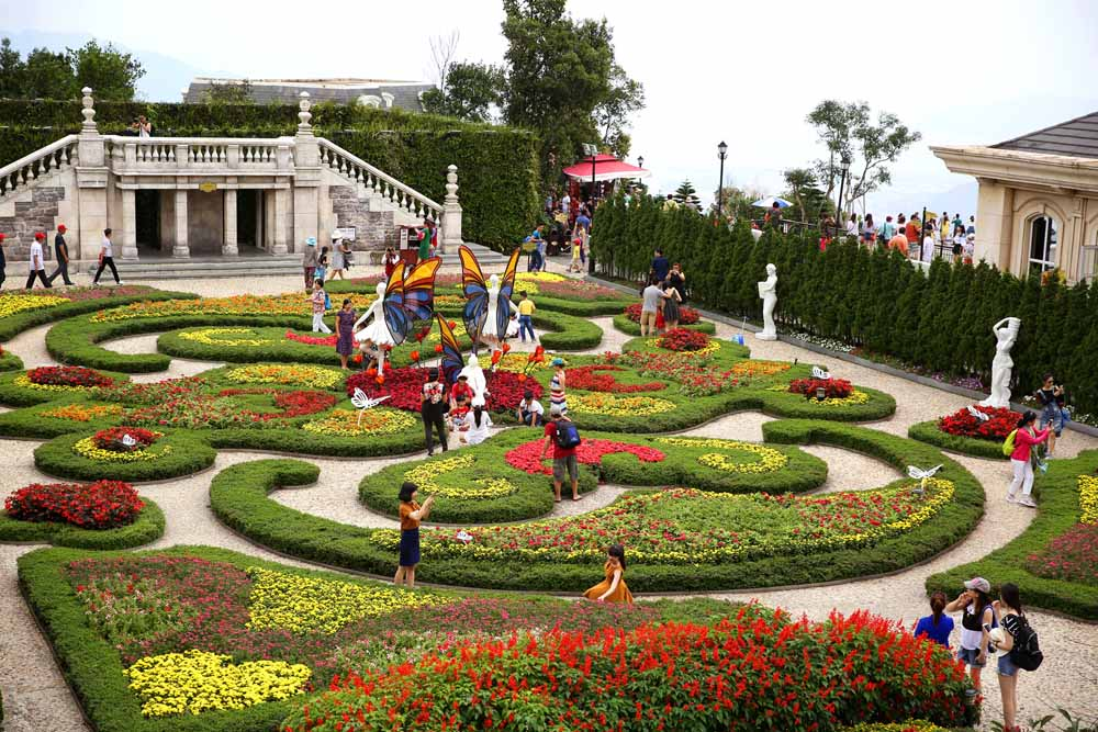 Le Jardin Damou Du lịch Bà Nà Hills Du lich Ba na