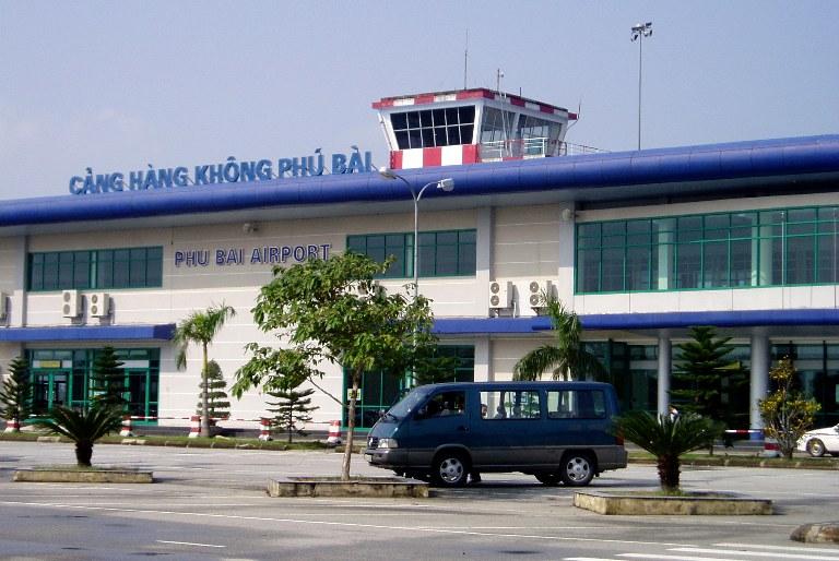 Từ Sân bay Phú Bài về Huế