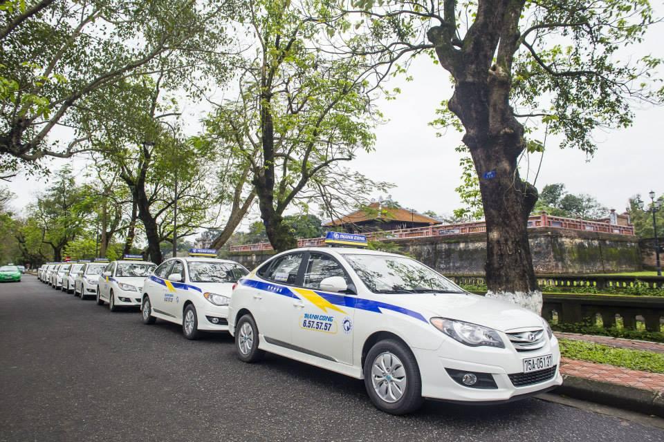Taxi Từ Sân bay Phú Bài về Huế