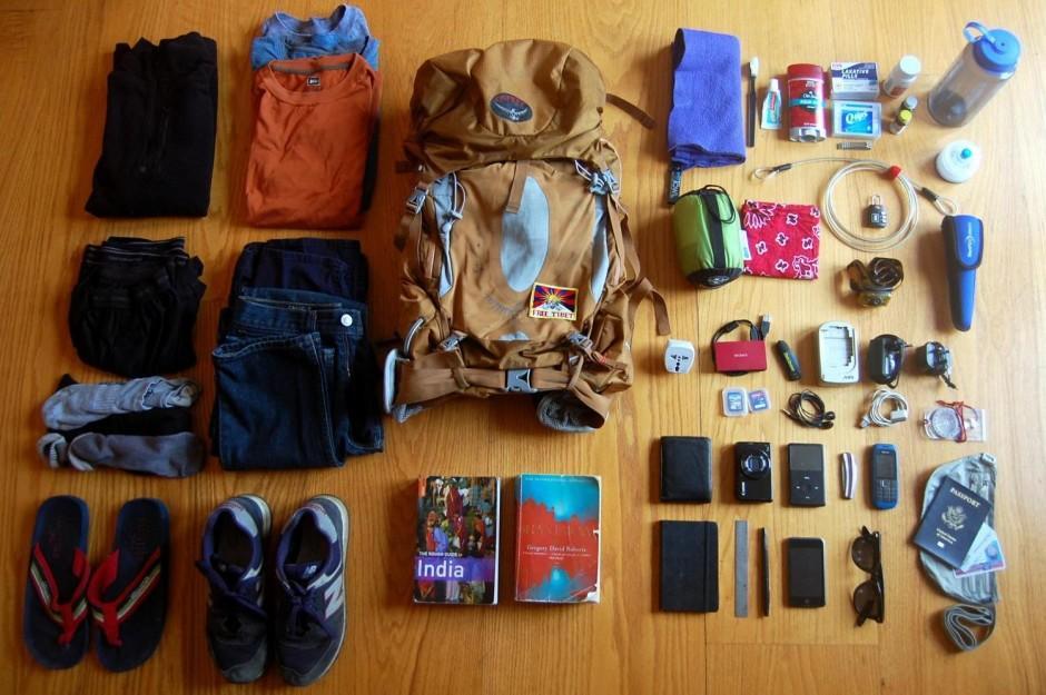Hành lý khi đi du lịch