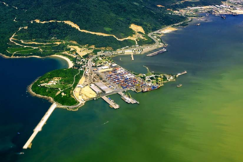 cảng Tiên Sa Sơn Trà du lịch Đà Nẵng