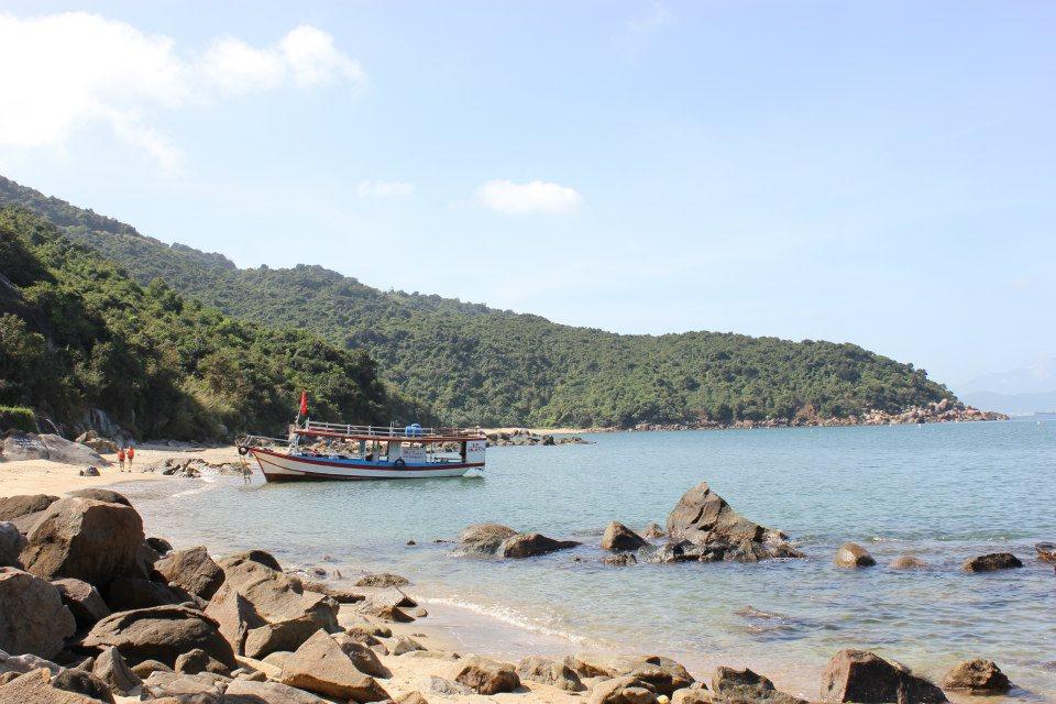 Bãi đá đen Sơn Trà du lịch Đà Nẵng