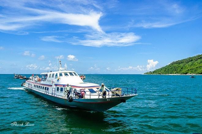tàu đi đảo Nam Du du lịch Phú Quốc