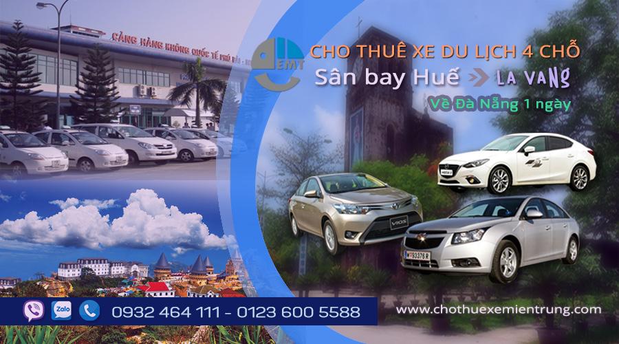 thuê xe 4 chỗ sân bay Huế đi La Vang cho thue xe du lich hue