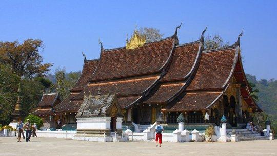 Wat Xieng Thong Luang Prabang du lịch Lào