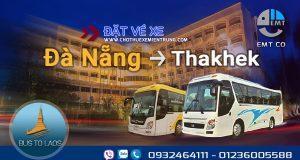 Xe Đà Nẵng đi Thakhet Lào giá rẻ | Bus from Da Nang to Thakhek Laos