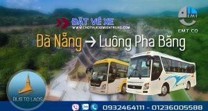 Xe Đà Nẵng đi Luongphabang (Luông Pha Băng) Lào giá rẻ | Bus from Da Nang to Luang Prabang