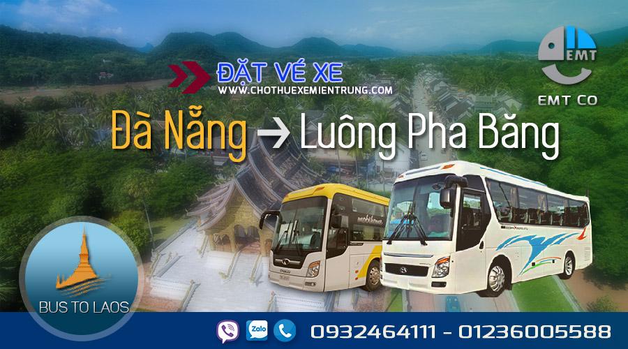 Xe Đà Nẵng đi Luongphabang (Luông Pha Băng) Lào giá rẻ