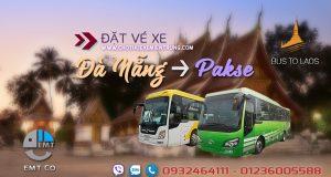 Xe Đà Nẵng đi Pakse (Pắc Xế) Lào giá rẻ | Bus from Da Nang to Pakse Laos