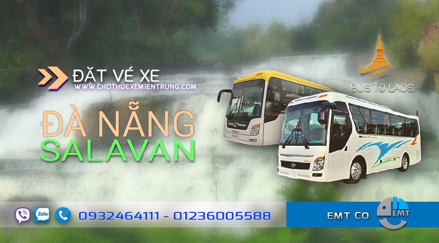 Xe Đà Nẵng đi Salavan Lào giá rẻ