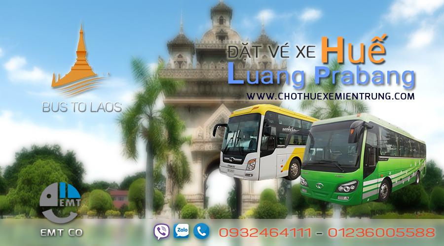 Xe từ Huế đi Luongphabang Luông Pha Băng Luang Prabang giá rẻ xe hue di luongphabang