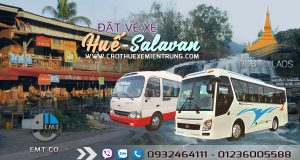 Xe từ Huế đi Salavan Lào giá rẻ | Xe Hue di Salavan Lao