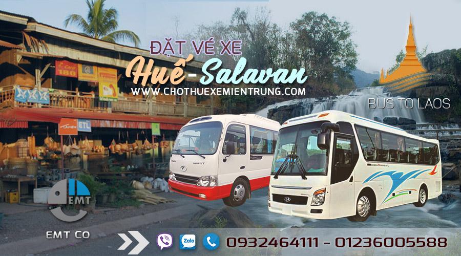 Xe từ Huế đi Salavan Lào giá rẻ, xe hue di salavan lao