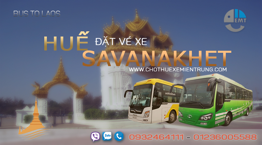 Xe từ Huế đi Savanakhet giá rẻ xe hue di lao