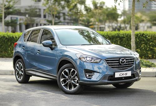 Mazda CX5 giảm thuế Ô tô Việt Nam