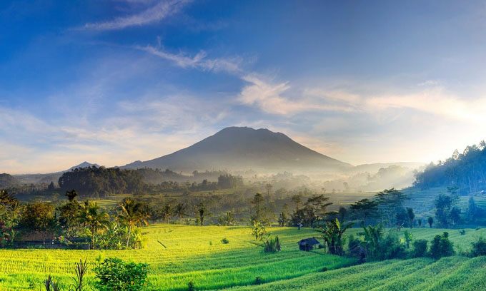 Sidemen Bali Indonesia