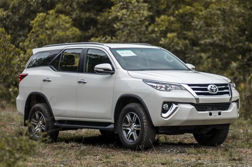 Toyota Fortuner giảm thuế xe ô tô Việt Nam