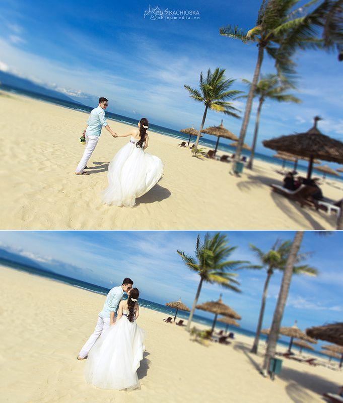 Ảnh cưới biển Mỹ Khê du lịch Đà Nẵng