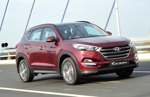 Hyundai tucson 2016 giảm thuế xe ô tô Việt Nam