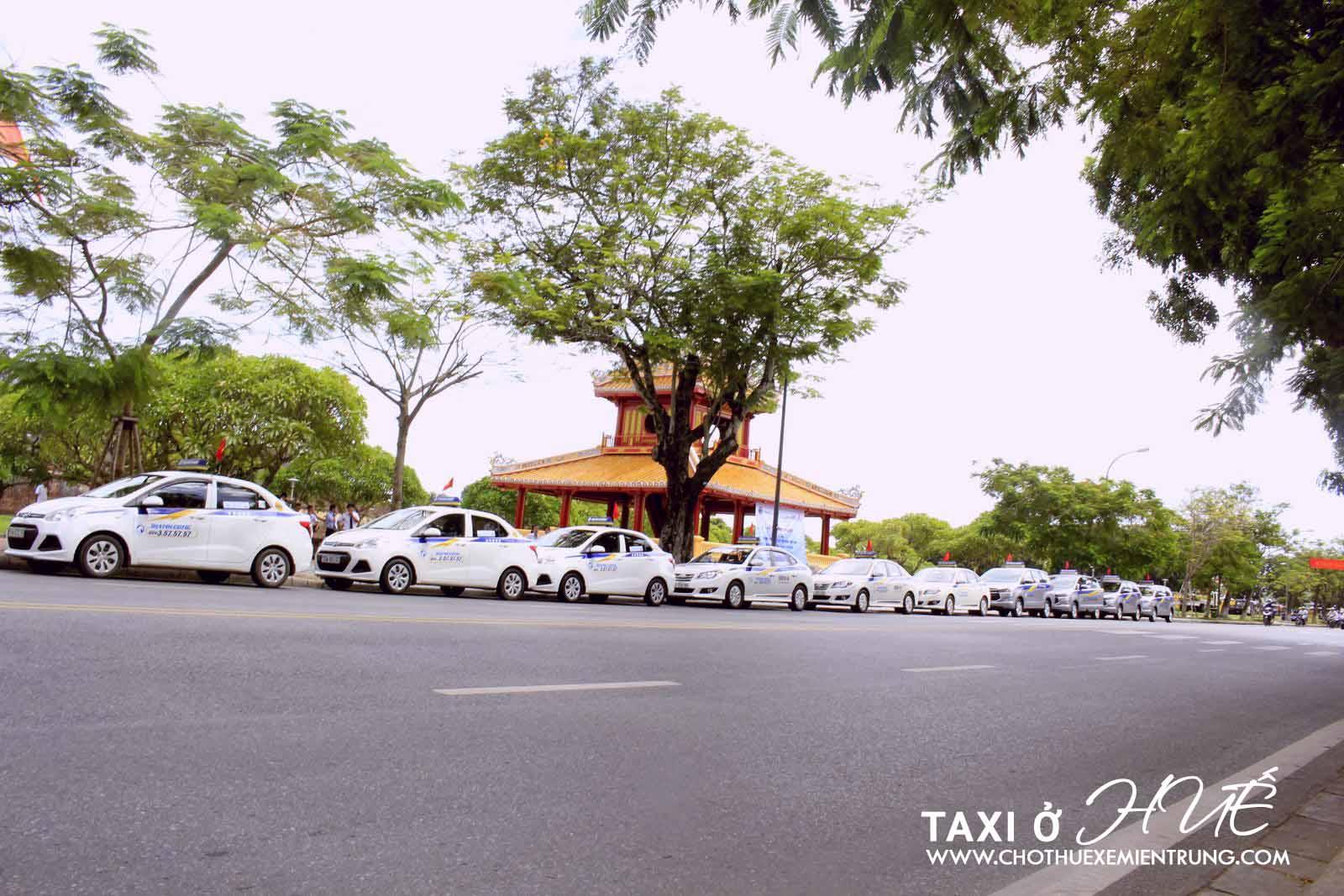 Số điện thoại taxi ở Huế