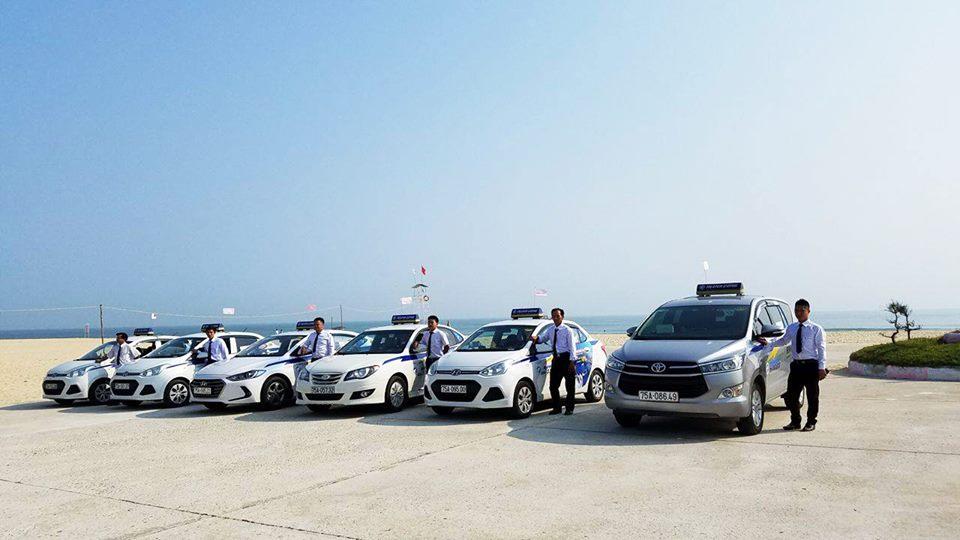 Giá cước taxi ở Huế
