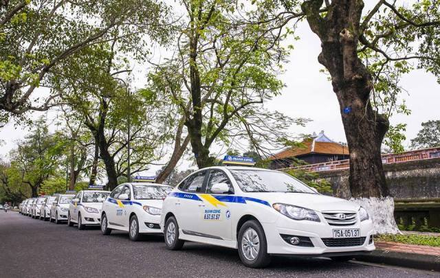 Giá cước của các hãng taxi ở Huế