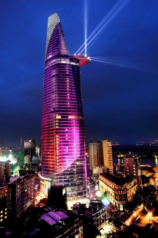 Tháp Bitexco Những tòa nhà cao nhất Việt Nam