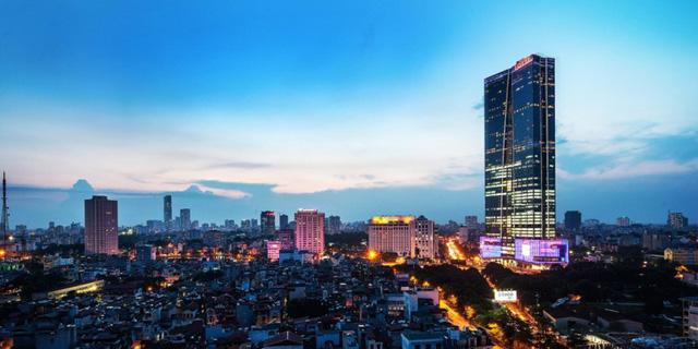 Lotte Hanoi Tower Những tòa nhà cao nhất Việt Nam