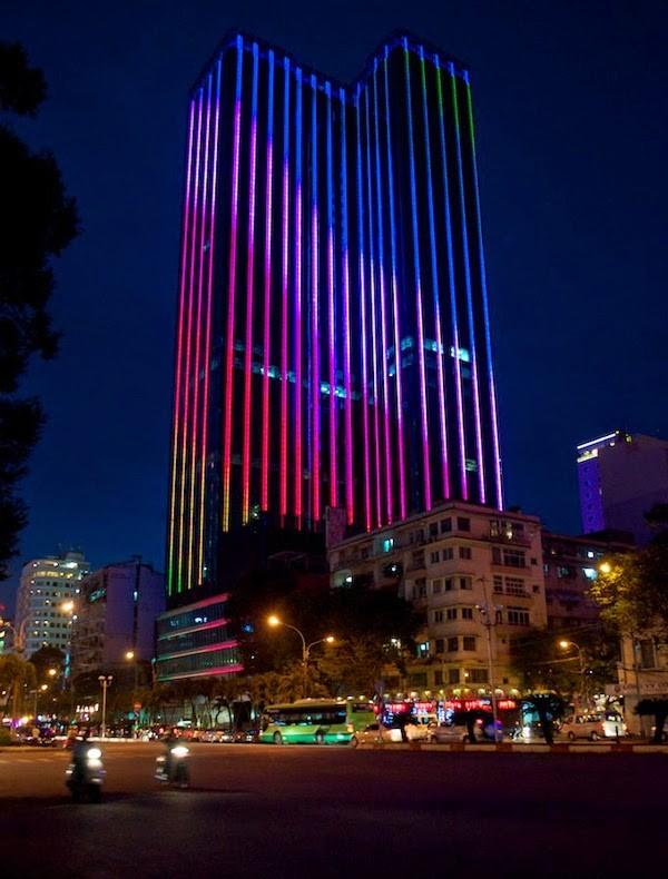 Saigon Time Square Những tòa nhà cao nhất Việt Nam