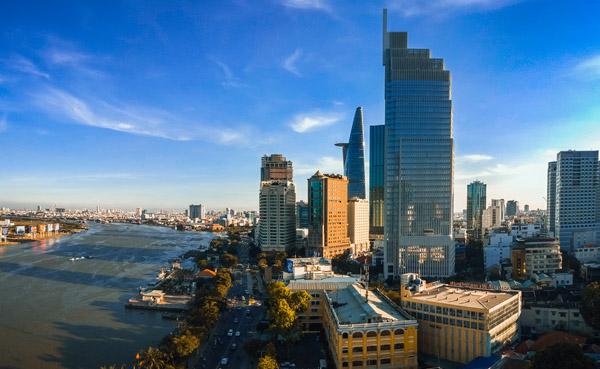 Vietcombank Tower Những tòa nhà cao nhất Việt Nam