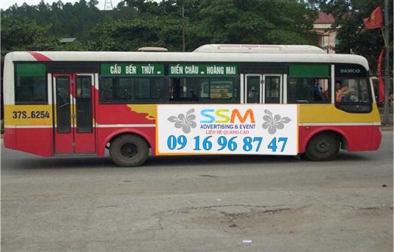 Xe bus từ sân bay Vinh về thành phố
