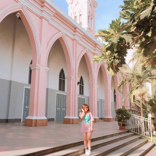 Nhà thờ chính tòa những điểm check in đẹp ở Đà Nẵng