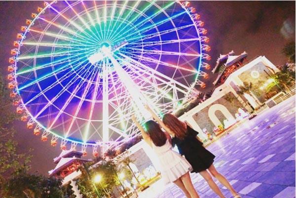 sun wheel những điểm check-in đẹp ở Đà Nẵng