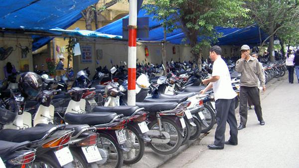 Giá dịch vụ trông giữ xe trên địa bàn tỉnh Thừa Thiên Huế