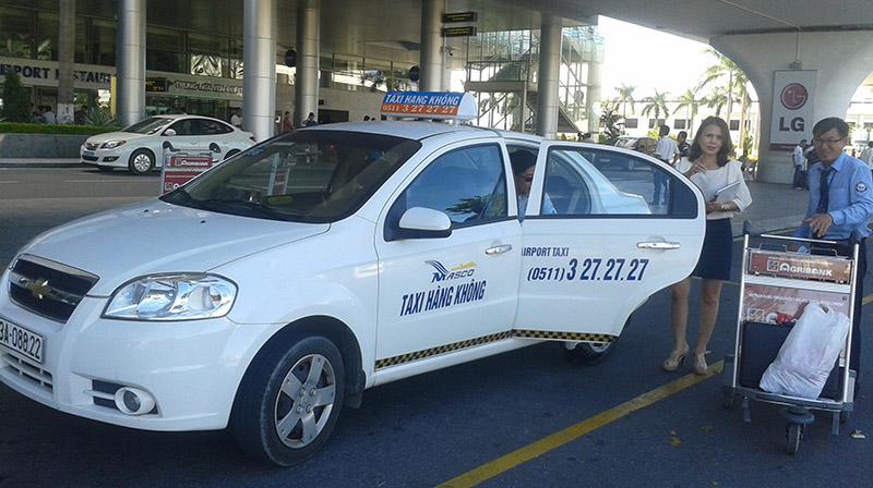 Taxi ở sân bay Đà Nẵng về thành phố